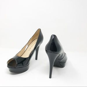 Marc Fisher Black Shoes 5 inch heel